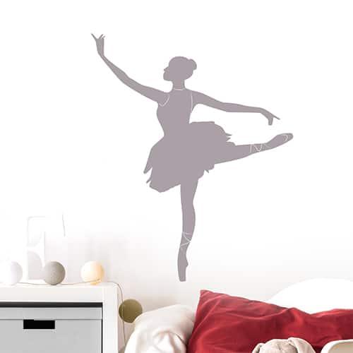 Sticker adhésif Danseuse Ombre chambre