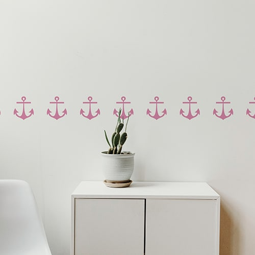 sticker Pirates avec une lampe