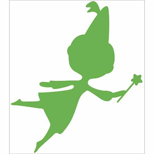 Sticker Fée Verte pour enfants