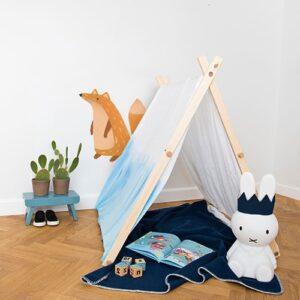 sticker mural renard pour enfants