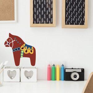 Stickers Cheval pour la chambre de votre enfant mis en ambiance, 1ère proposition