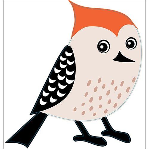Stickers Oiseau pour enfants