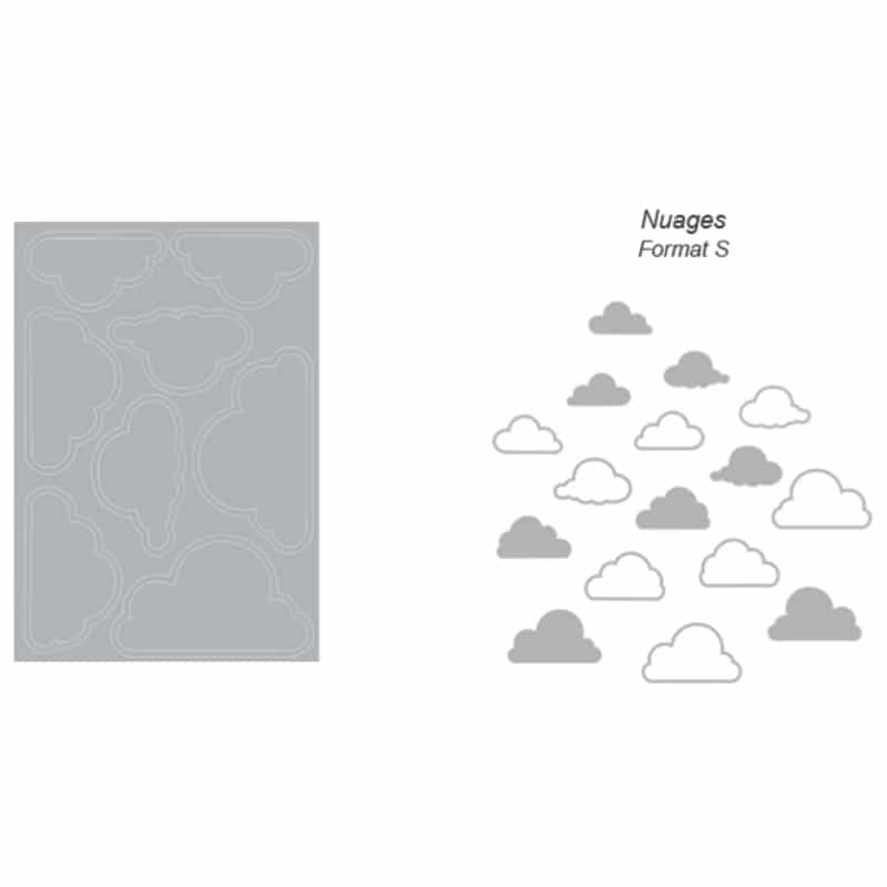 Stickers électrostatique Nuages pour vitres