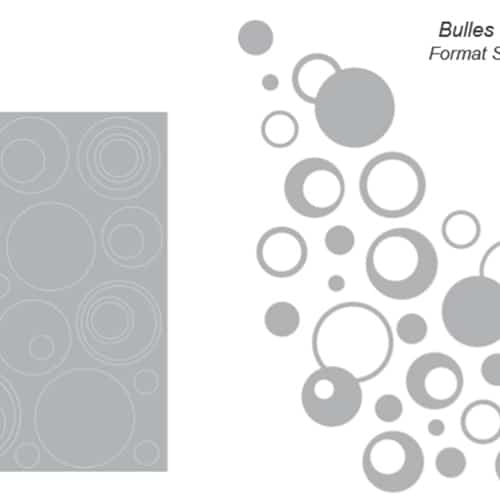 Stickers adhésif Bulles