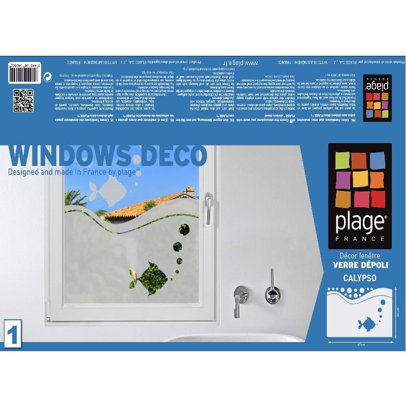 Stickers électrostatique Aquarium pour vitres et occultant