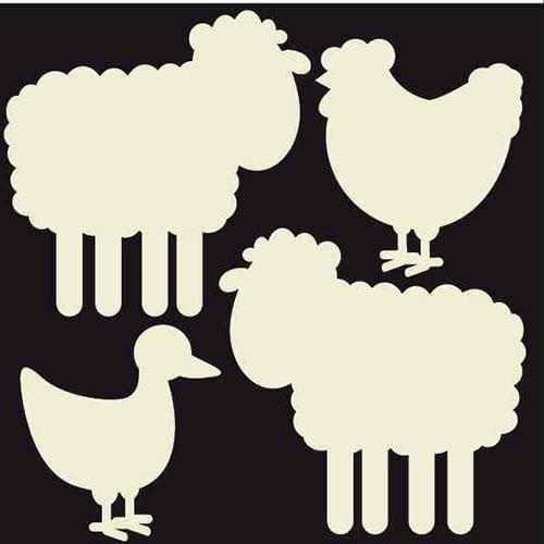 Stickers adhésifs Animaux de la ferme