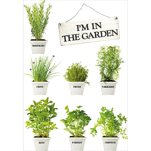 Sticker In The Garden pour décoration intérieur