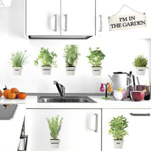 Sticker In The Garden pour déco cuisine