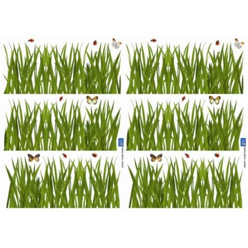 Stickers autocollants Herbes