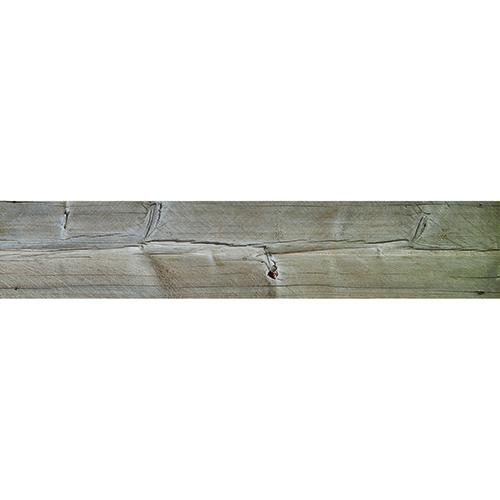 Adhésif planche de bois pour contremarches et déco escalier en bois mur blanc