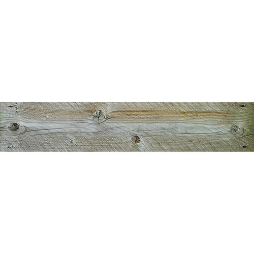 Sticker déco planche de bois pour contremarches d'escalier moderne mur blanc