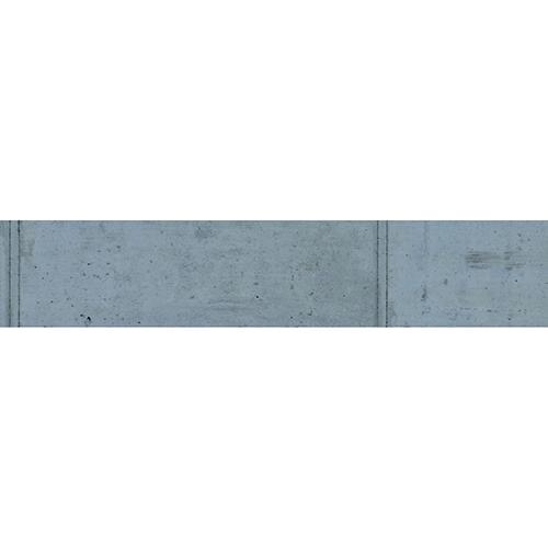 Autocollant béton ciment pour décoration contremarches d'escalier en bois mur blanc