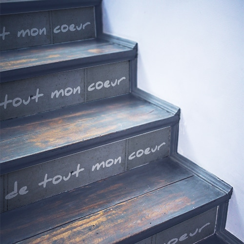 Adhésifs escaliers