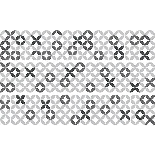 Sticker autocollant représentant de la céramique grise pour contremarche
