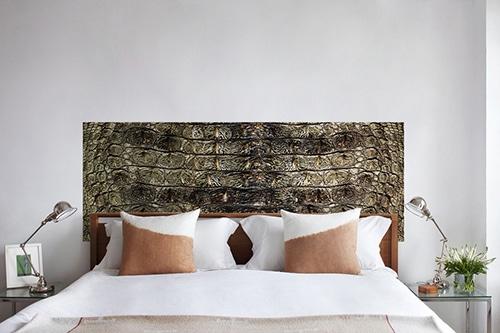Sticker autocollant croco pour tête de lit