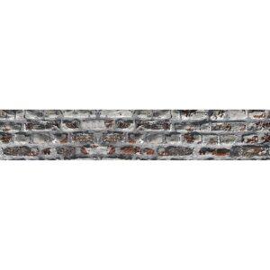 Sticker autocollant frise mur briques droites