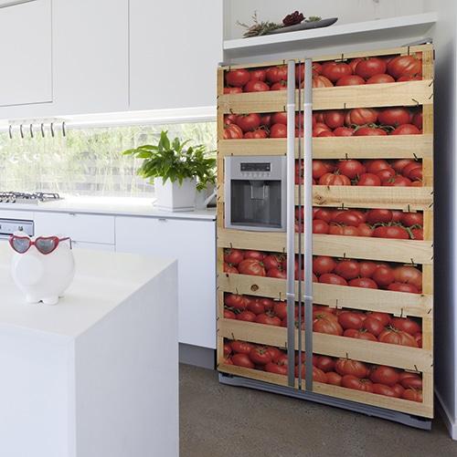 Sticker adhésif Tomates dans une cuisine