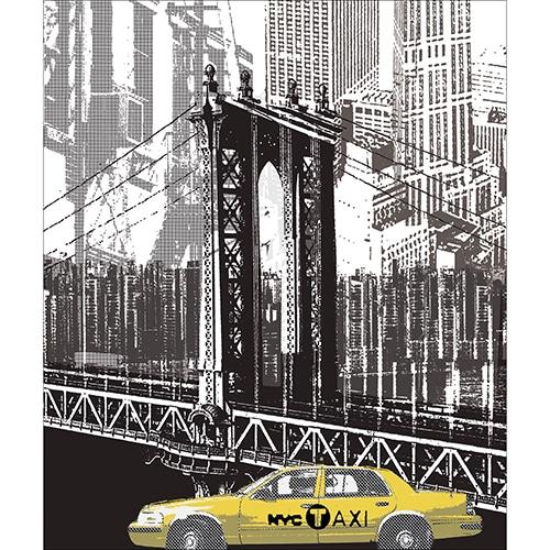 Sticker adhésif New York déco pour lave-vaisselle
