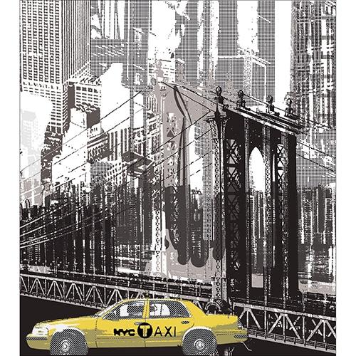 Sticker adhésif New york pour électroménager