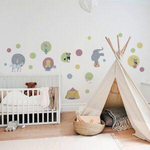 Sticker autocollant pour la décoration de la chambre de bébé