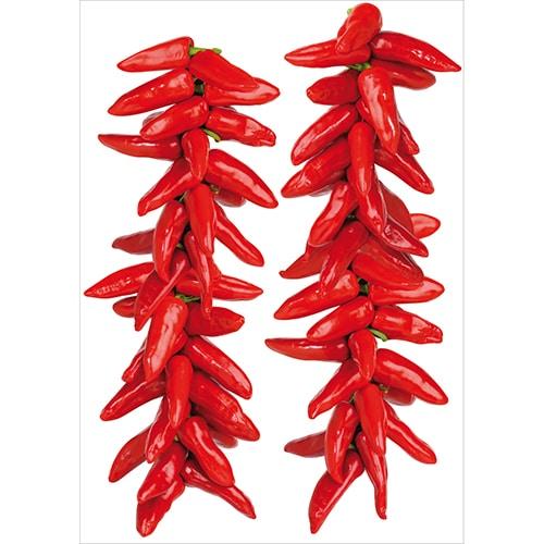 Sticker planche Piments rouge du Sichuan déco