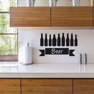 Sticker Beer dans une cuisine