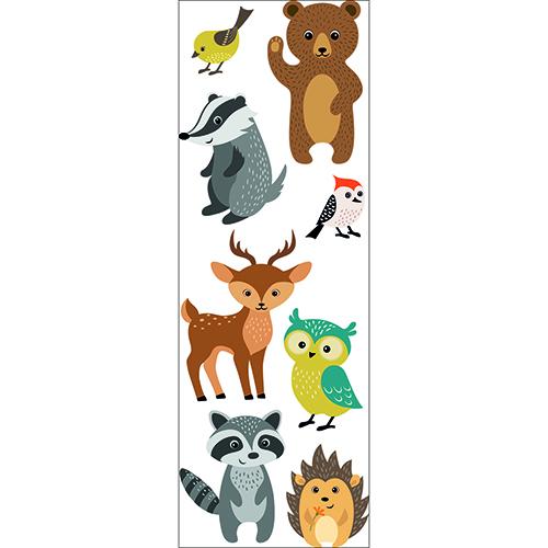Sticker adhésif mural Animaux de la forêt