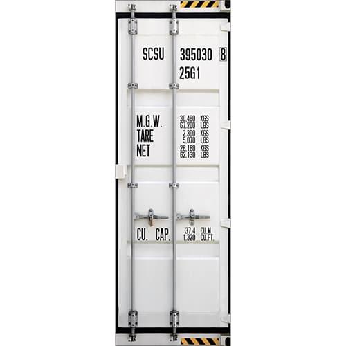 Sticker autocollant Container sur un frigo dans une cuisine