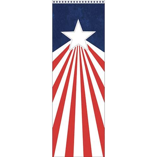 Sticker adhésif pour électroménager Stars and banners