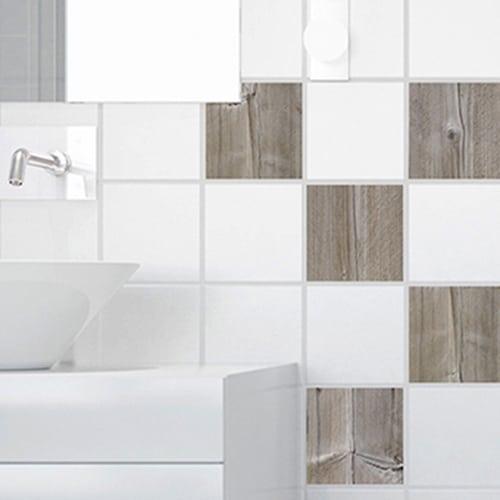 stickers bois pour d coration d 39 int rieur carrelage. Black Bedroom Furniture Sets. Home Design Ideas