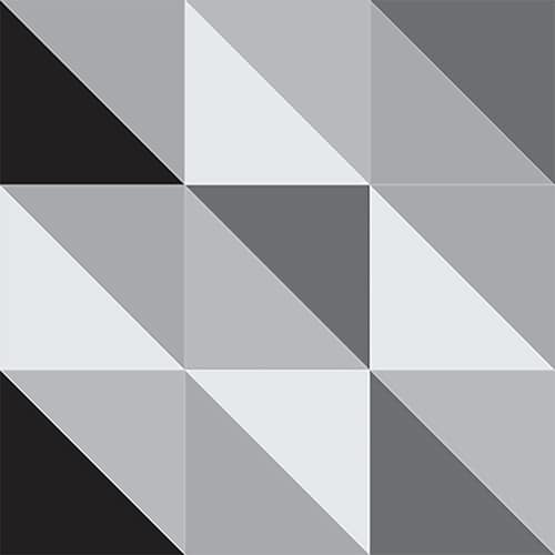 Stickers adhésif scandinave noir et blanc pour décoration carrelage
