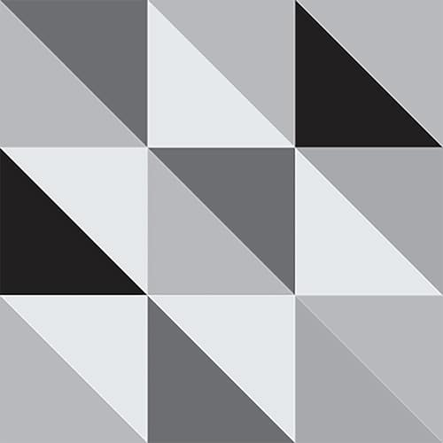 Stickers adhésif décoration Scandinave noir et blanc carrelage
