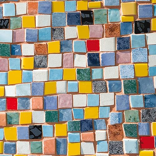 Stickers adhésif Mosaique décoration pour carrelage d'intérieur