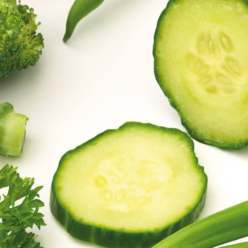 Stickers autocollant légumes verts décoration pour carrelage intérieur
