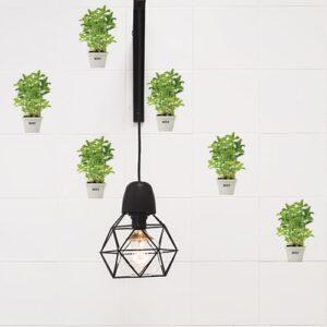 Autocollant décoration pour carrelage blanc Aromatiques vert de cuisine