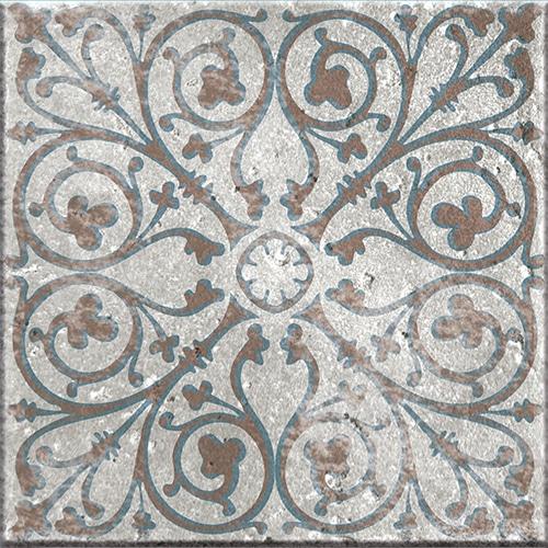Stickers adhésif bleu et marron décoration d'intérieur pour carrelage Marvao