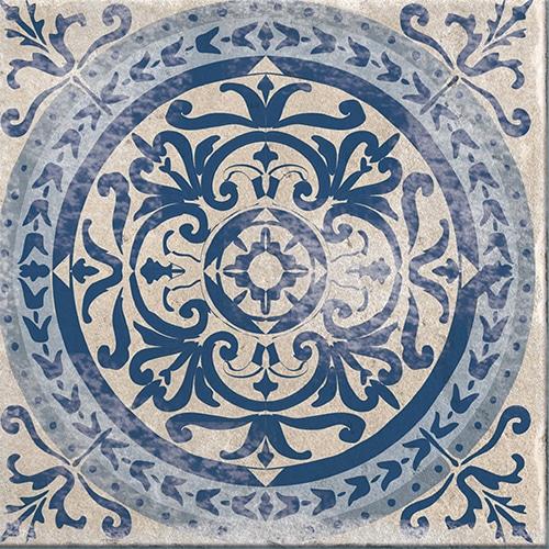 Stickers autocollant décoration bleu Antico Tomar carrelage