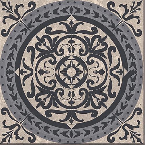 Stickers adhésif déco Brescia gris pour carrelage