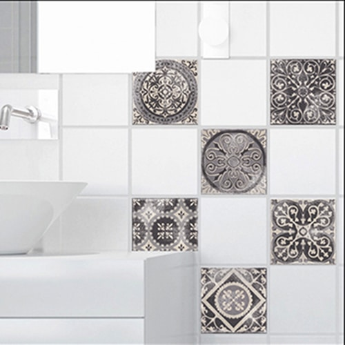 Sticker adhésif Antico Brescia déco pour carrelage de salle de bain