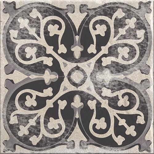Stickers adhésif décoration gris de carrelage Antico Brescia