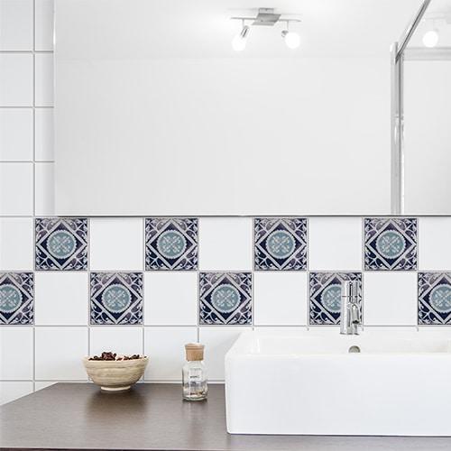 Sticker Antico Monza déco pour carrelage de salle de bain
