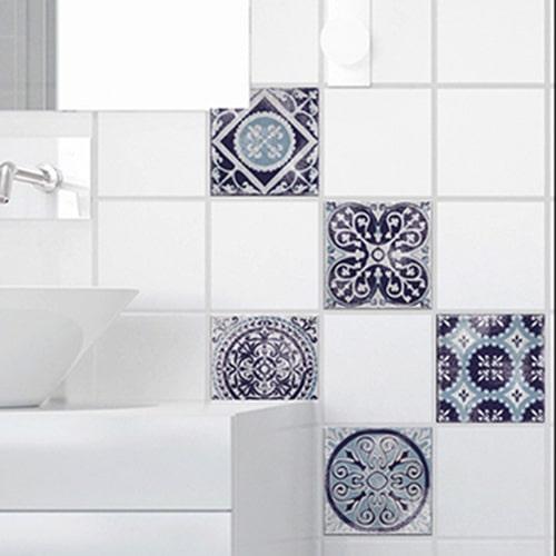Sticker adhésif Antico Monza pour carrelage de salle de bain