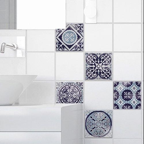 Sticker antico Monza pour carrelage de salle de bain