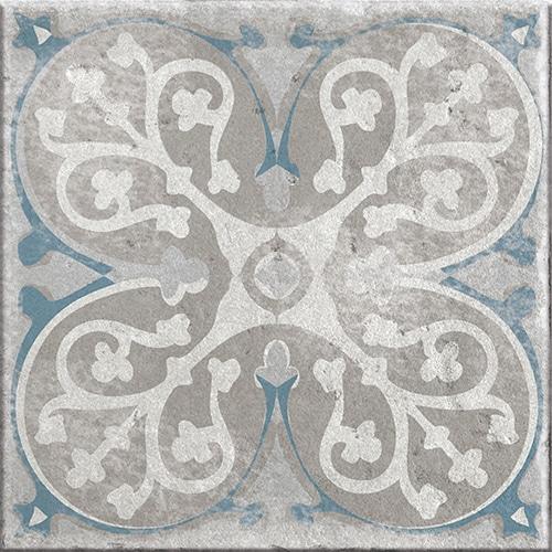 Stickers adhésif Antico Elvas beige et bleu déco pour carrelage