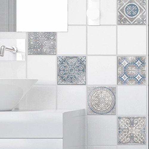 Sticker Antico Elvas pour carrelage de salle de bain