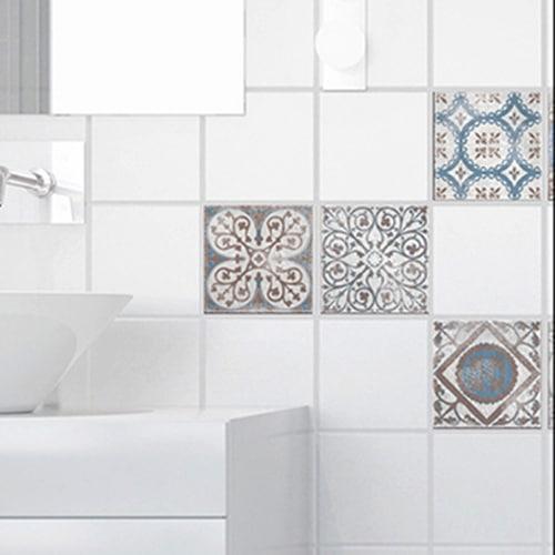 Sticker Antico Baixa pour carrelage de salle de bain
