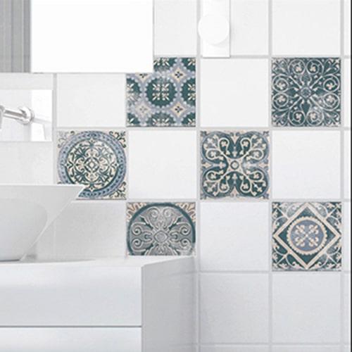 Sticker pour carrelage de salle de bain Antico Forli
