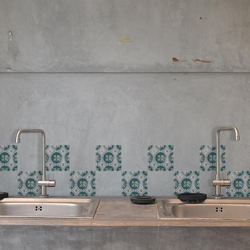 Sticker Antico Forli décoration pour carrelage de cuisine