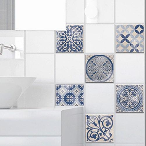 Stickers pour carrelage de salle de bain Antico Acores