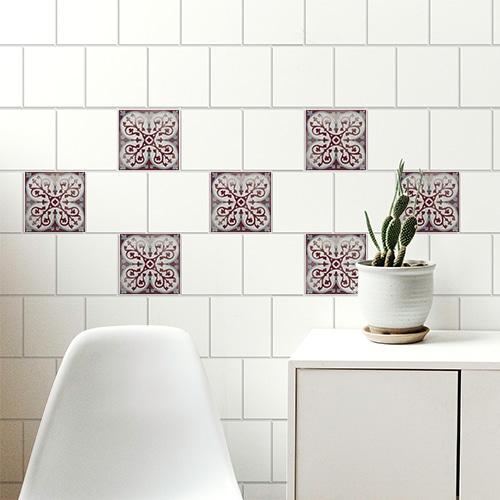 Sticker Antico Marvao décoration pour carrelage de salon